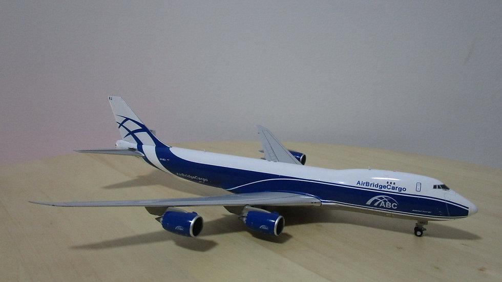 1:400 B747-8F AirBridge Cargo Airlines VQ-BRJ