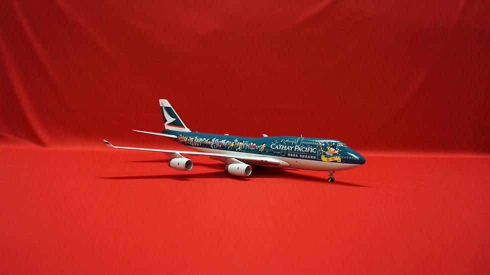 1:200 B747-467 Cathay Pacific 'Same Team.Same Dream' B-HOX