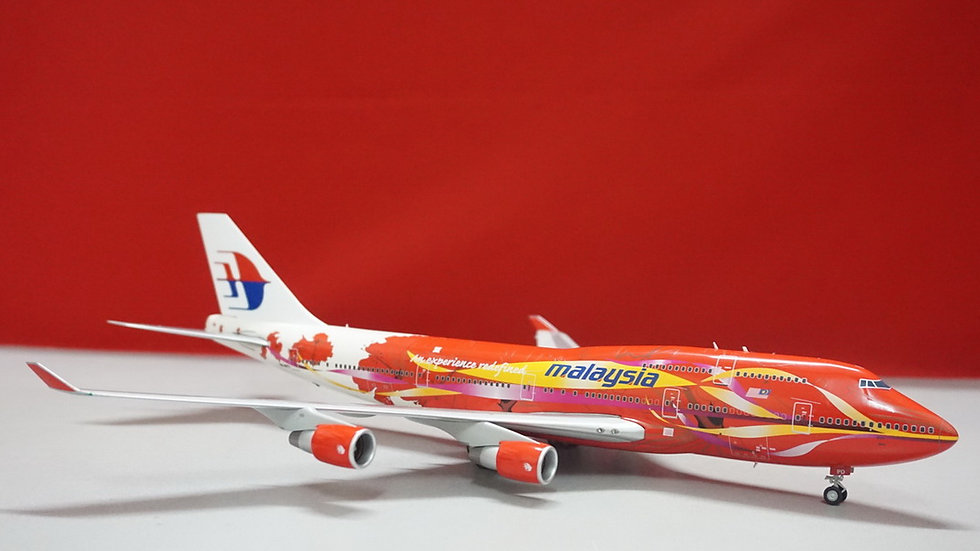 1:200 B747-400 Malaysia Airlines Hibiscus 9M-MPD