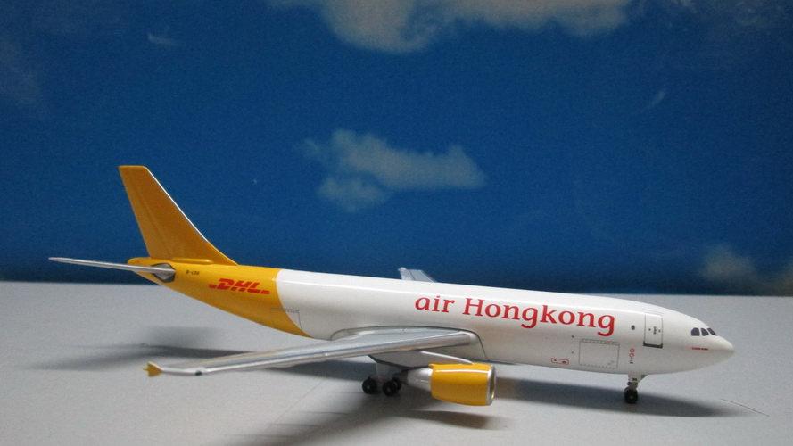1:400 A300-600R Air Hong Kong/DHL B-LDG