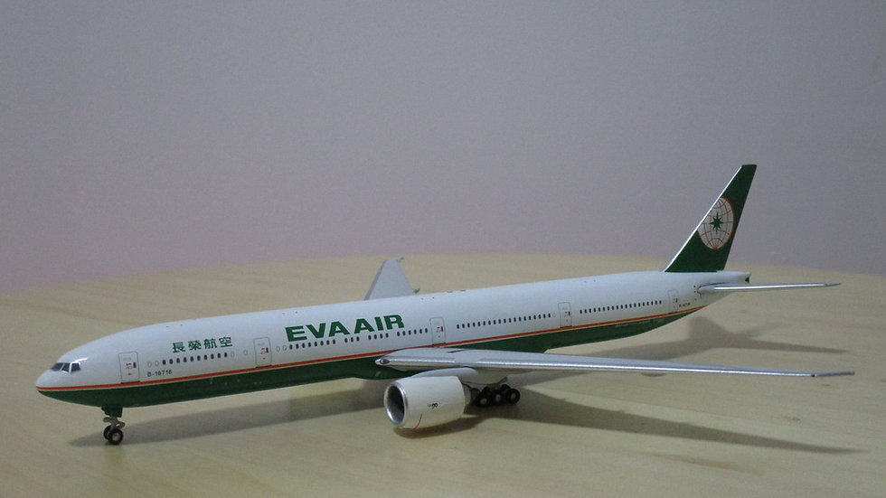 1:400 B777-35E/ER Eva Air Old Color B-16716