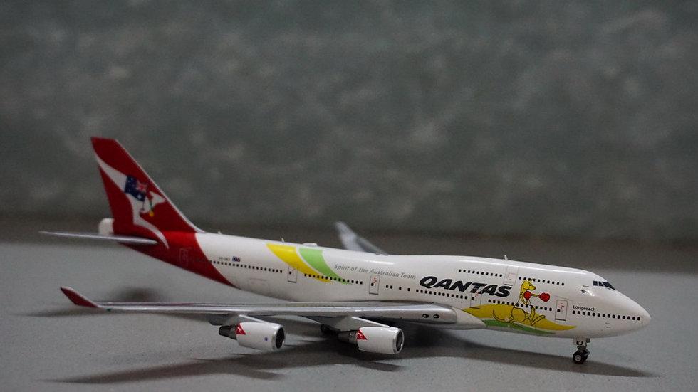 1:400 B747-400ERQantas 'Olympic 2016' VH-OEJ