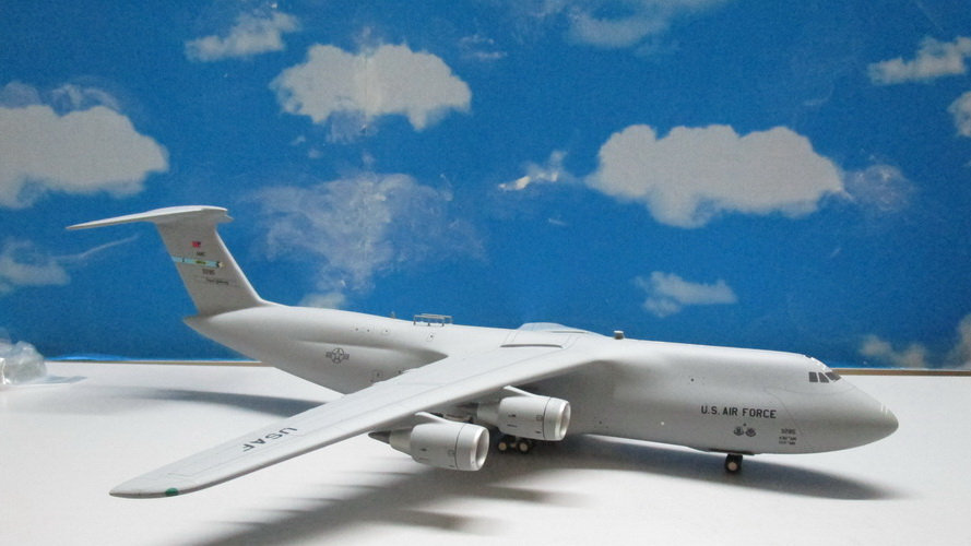 1:200 C-5M USAF Spirit of Old Glory Dove Air Base 83-1285