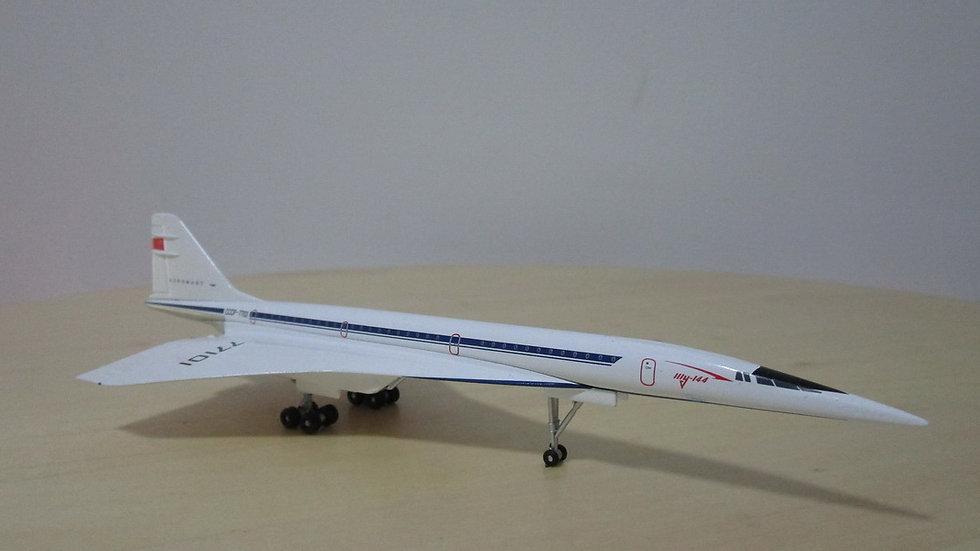 1:400 TU-144 Aeroflot Pre-Production Aircraft CCCP-77101