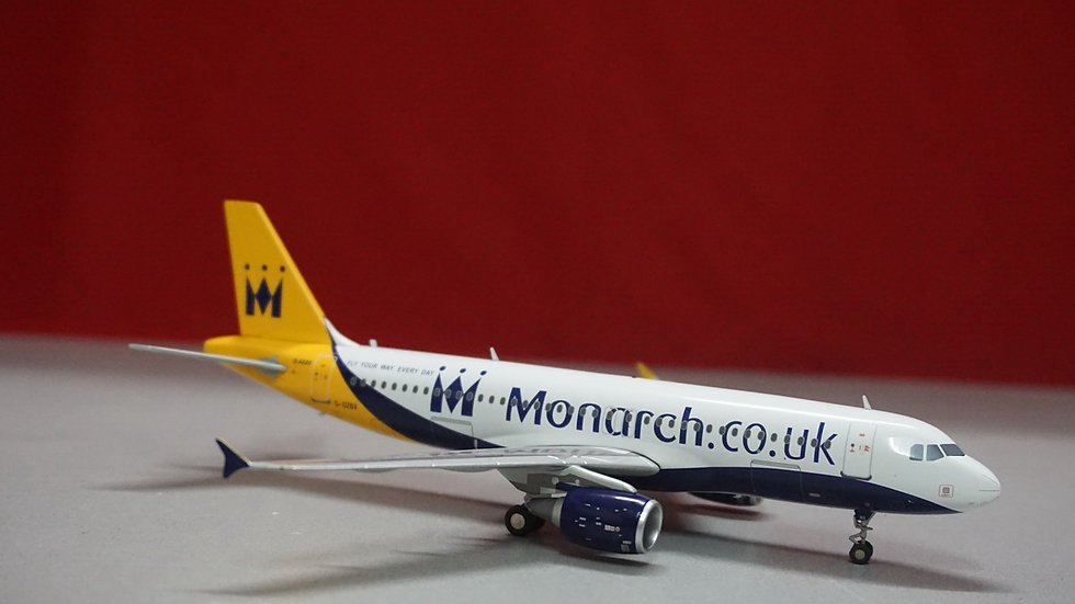 1:200 A320-214 Monarch Airlines G-OZBX
