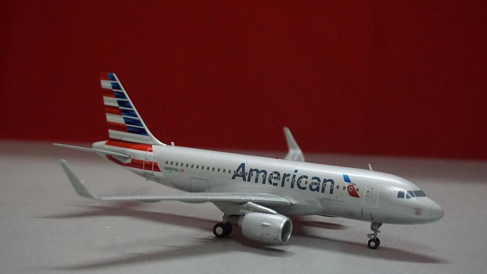 1:200 A319-115S American Airlines NL N8001N