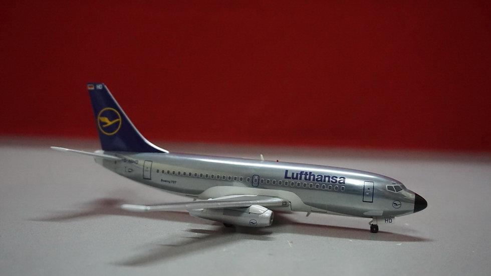 1:200 B737-200 Lufthansa OC Polished D-ABHD