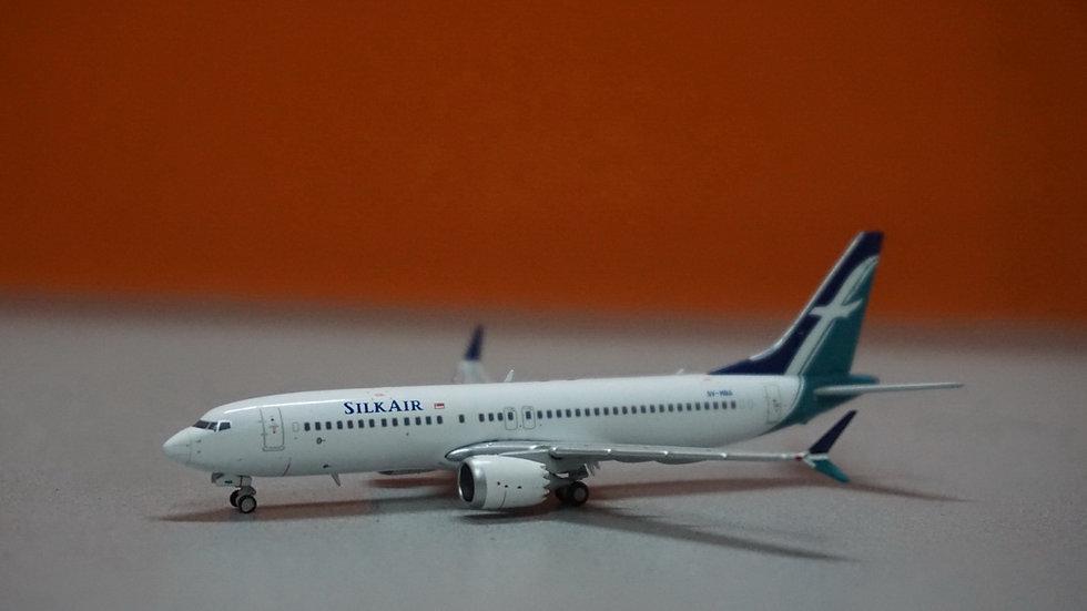 1:400 B737 MAX8 Silk Air 9V-MBA