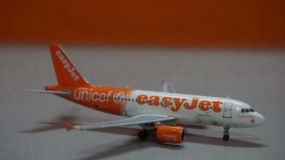 1:400 A319-111 EasyJet United Nations Int'l Children's Emergency Funds G-EJAR
