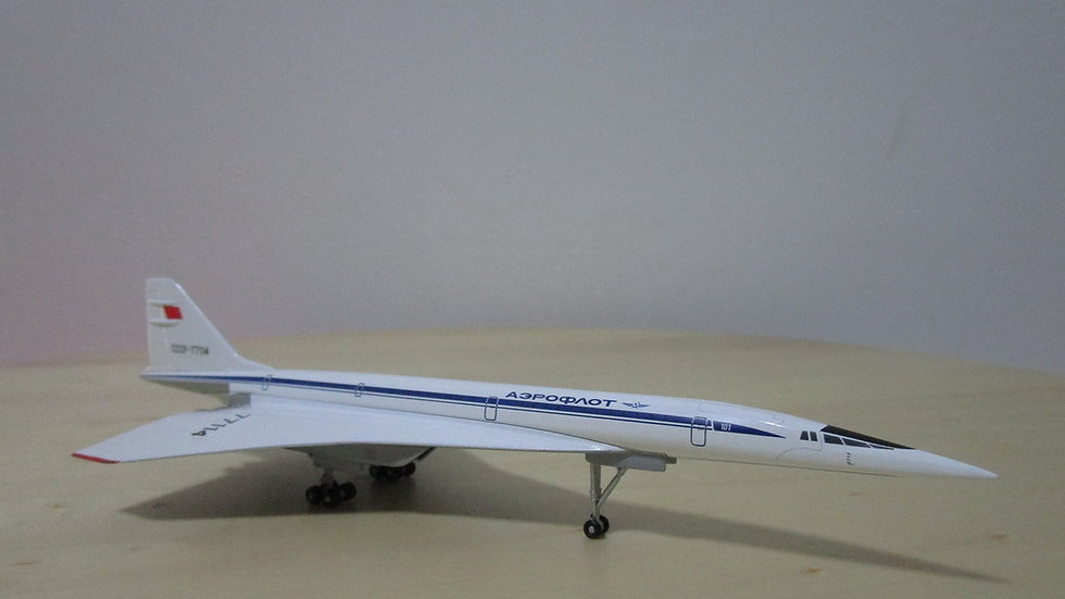 1:400 TU-144D Aeroflot CCCP-77114