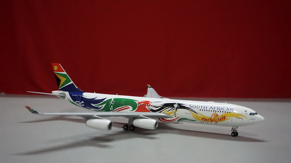 1:200 A340-300 South African Olympic Livery 'Siyanqoba' ZS-SXD
