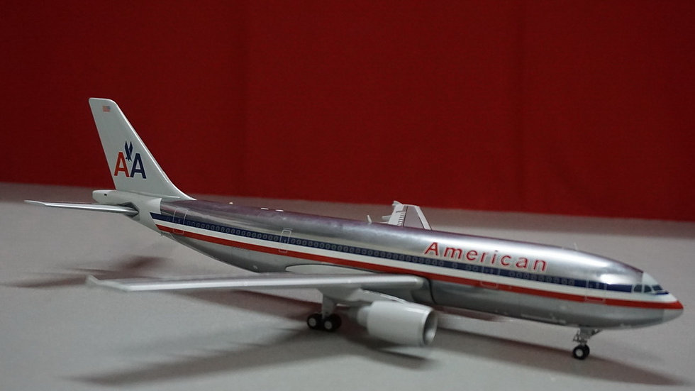 1:200 A300-600R American Airlines 'Polished' N14056