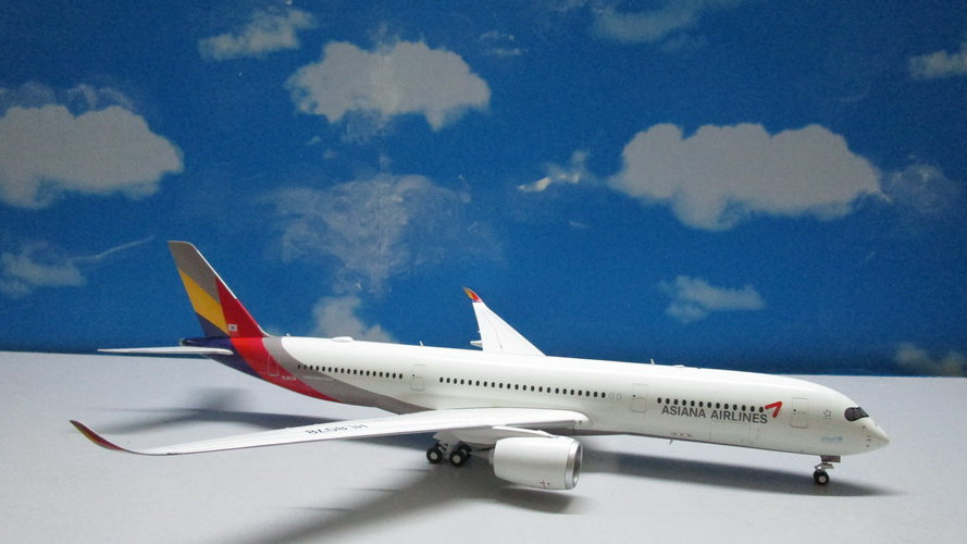 1:200 A350-900AWB Asiana Airliners HL8078