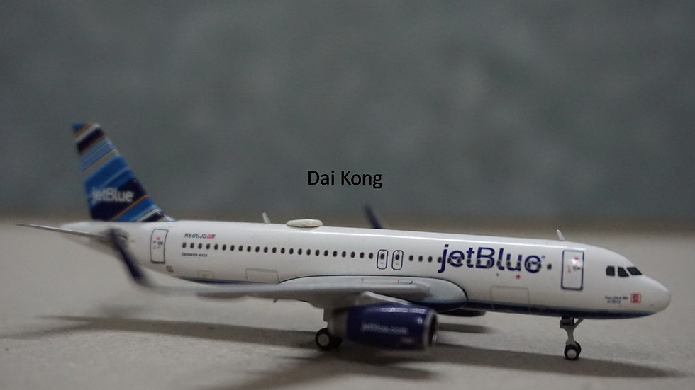 1:400 A320-200S JetBlue Barcode Livery N805JB