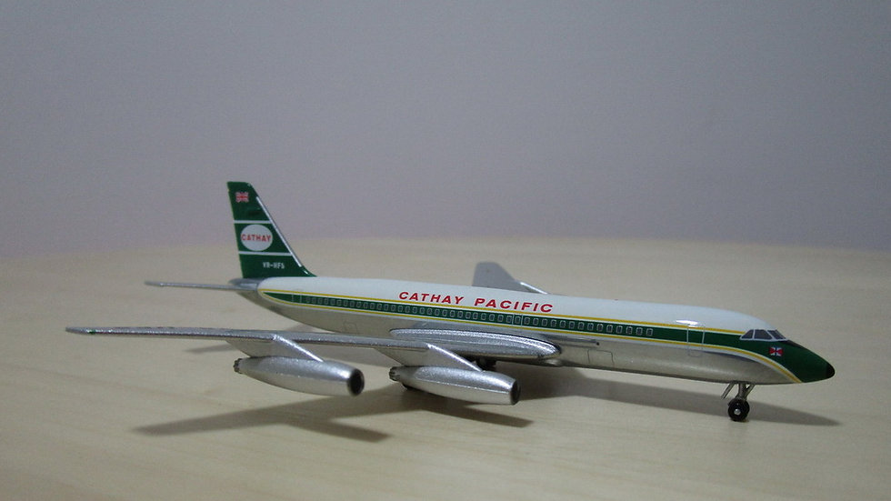 1:400 CV-880M Cathay Pacific Airways Polished VR-HFS