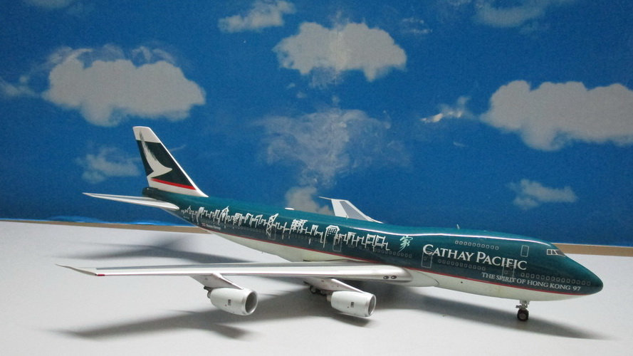 1:200 B747-267B Cathay Pacific 'Spirit Of Hong Kong 97' B-HIB