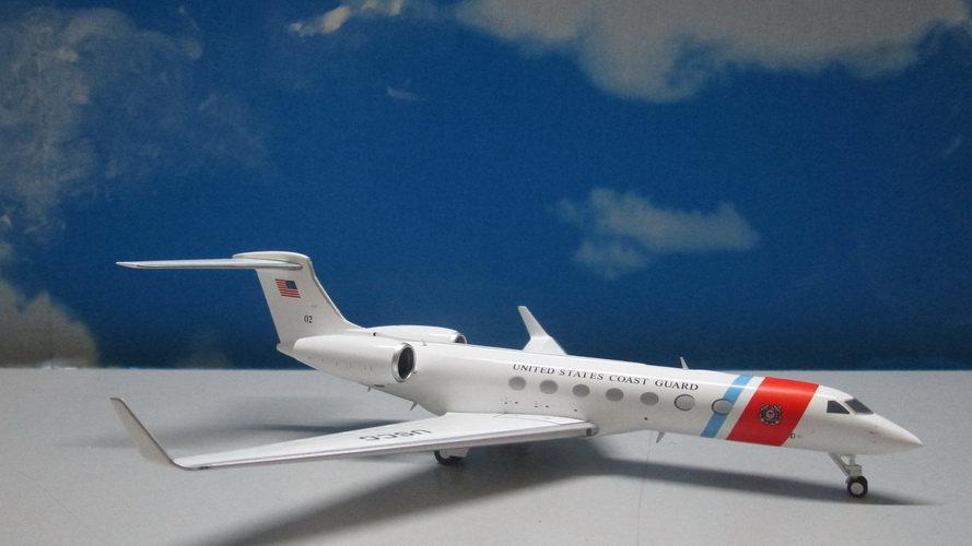 1:200 Gulfstream G550 (C-378) US Coast Guard 02