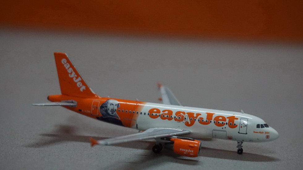 1:400 A319-111 EasyJet William Shakespeare G-EZBI