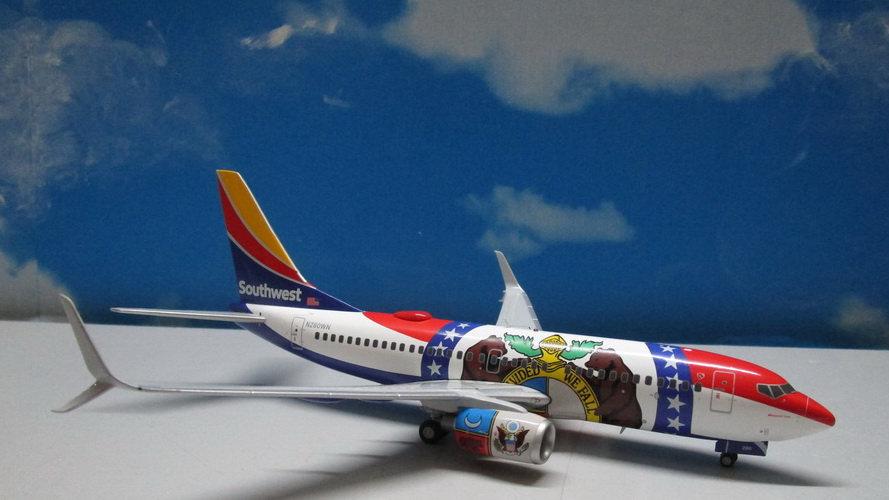 1:200 B737-700W Southwest Airlines Missouri One N280WN