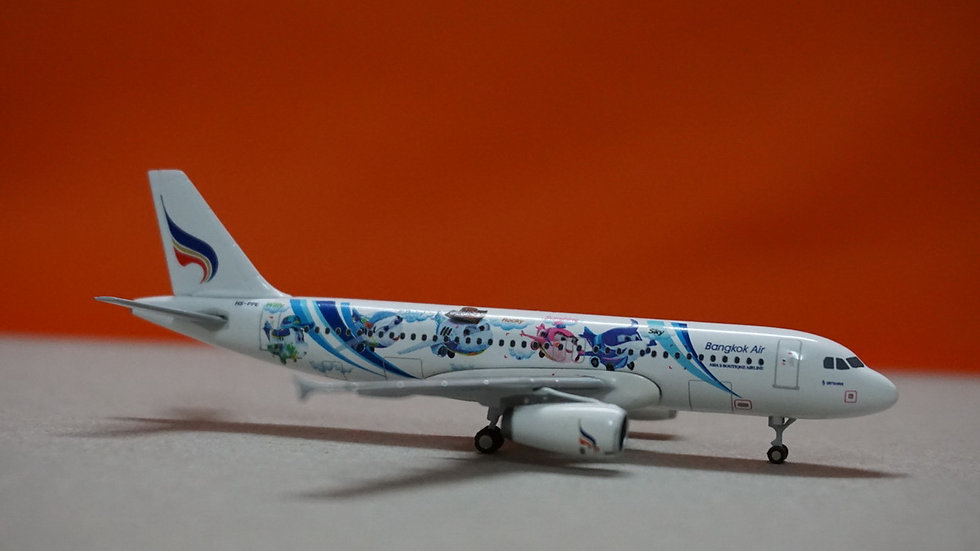 1:400 A320-200 Bangkok Airways 'Mascots - Mahamongkoi' HS-PPE