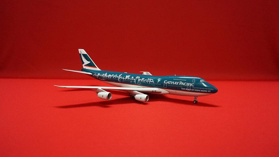 1:200 B747-267 Cathay Pacific 'Spirit Of Hong Kong 97' B-HIB