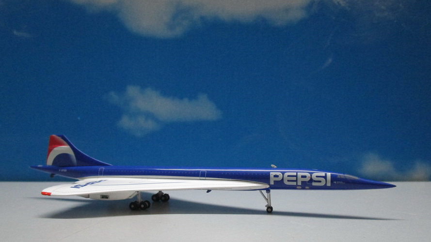 1:400 Concorde Air France PEPSI F-BTSD