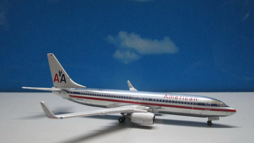 1:400 B737-800W American Airlines OC Polished N962AN