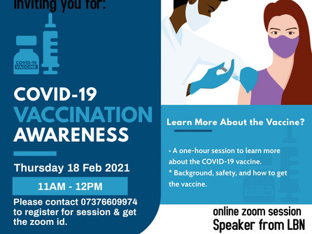 Get your vaccination questions answered at these events.