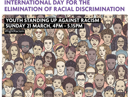 International Day for the Elimination of Racial Discrimination: Youth Standing Up Against Racism