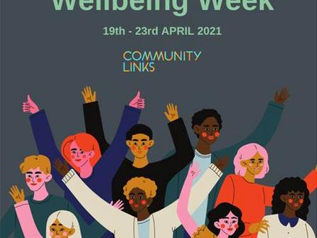 Celebrate Wellbeing week with Community Links
