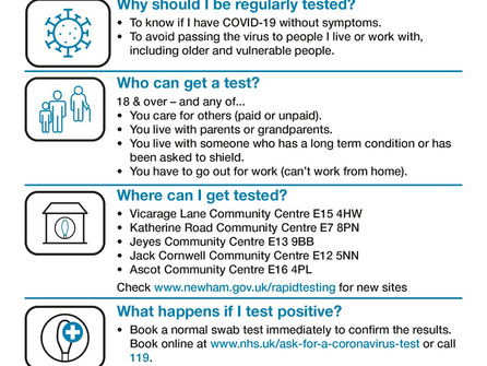 Covid Rapid Testing services
