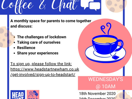 Monthly Space for parents to support each other
