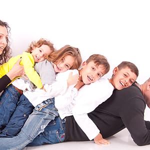 משפחת שיליאן בצילומי משפחה