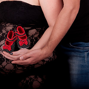 סיון בצילומי הריון