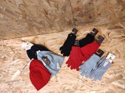 gants et bonnets levi's aspect Lurex pour femme