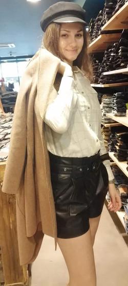 Short Only simili cuir 39€