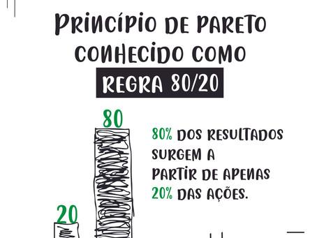Entenda de uma vez a regra do 80/20 (Princípio de Pareto)