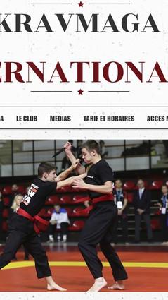 Kravmaga International 27 Site Vitrine
