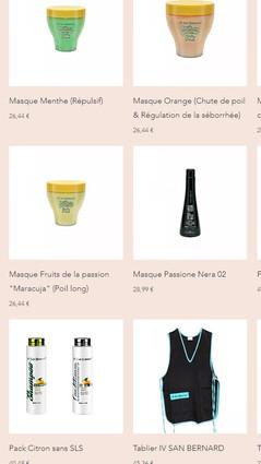 Calins Dorés Compagny Site e-commerce