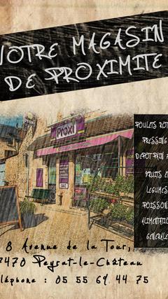 Affiche PROXI Peyrat le château