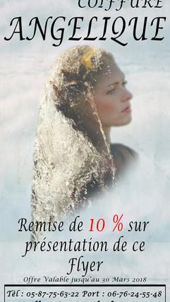flyers créations coiffure angélique