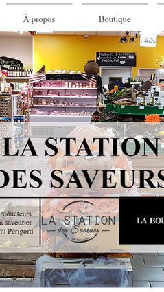 Station Des Saveurs Site e-commerce