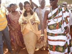 Facebook - Nubian Royals:   His Majesty Nanan Kouadjo Adou Bibi II  & Her Majest
