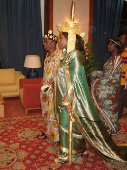 Facebook - Nubian nations Imperial Matriarch the Empress and Queen Shebah III