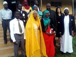 Shebah III and Adam II Nubian East-Africa's Nubian Nation Nubia-Sudan lines regions in Bombo Uganda,