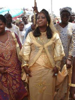 Facebook - Nubian Royals:   His Majesty Nanan Adou Bibi II & Her Majesty Empress