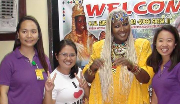 Facebook - The Empress Shebah III with Bukidnon Youths