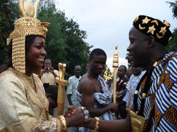 Facebook - Nubian Royals:  Shebah III & Adou Bibi II.   Their Royal Majesties th