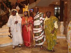 Facebook - Nubian Kingdom line Pinango & Abron Throne Royals