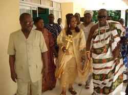 Facebook - Nubian Royals:   His Majesty King Kouadjo Adou Bibi II & Her Majesty